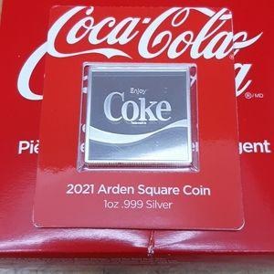 Coca Cola coin